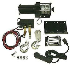 ATV Winch Motor Assembly Kit Includes Removable Toggle Switch 2500LB Rating Canada Preview