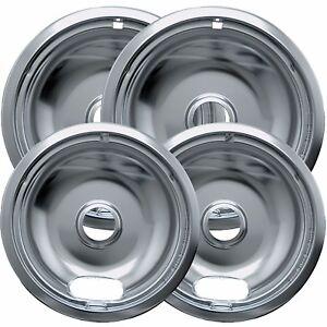 4pc Drip Pans Bowl Set 6