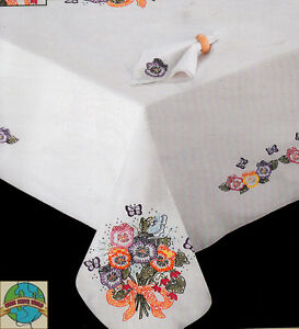 Charmant Image Is Loading Embroidery Kit Tobin Pansies Amp Butterflies 50 034
