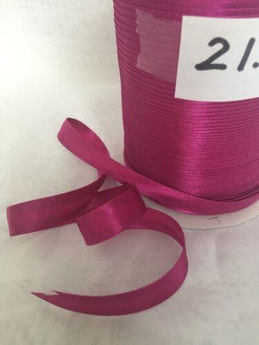 Beaucoup de couleurs Satin Bias Binding cassette Full Roll 144 mètres//131 mètres free p/&p
