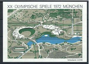Allemagne-RFA-Bloc-N-6-MNH-1972-J-O-de-Munich
