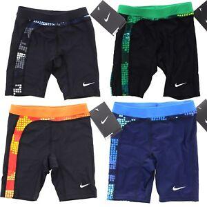 f268527d5f Image is loading Nike-Swimwear-Boys-Youth-Tech-Camo-Jammer-Performance-