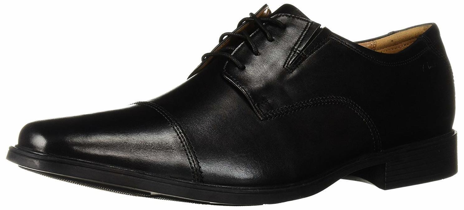 CLARKS Para Hombre Hombre Hombre Zapato Oxford Tilden Cap-elegir talla Color b17330