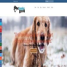 Fully Stocked Dropshipping Pet Supplies Stor Website Business Secret Bonuses