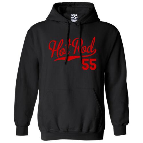 Hooded 1955 Custom Pickup Coupe Car Sweatshirt All Colors Hot Rod 55 HOODIE