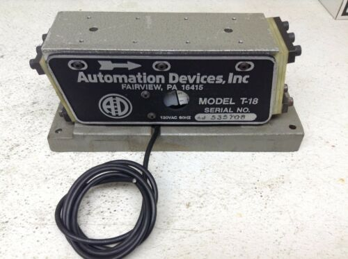 Automation Devices Model T-18 120 VAC Vibratory Feeder Vibrator T18