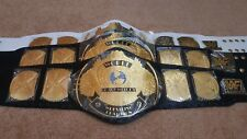 WWF WWE Classic Gold Winged Eagle Championship Belt.Adult size