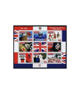 Europa Gibraltar 1068/77 Kleinbogen ** Briefmarken