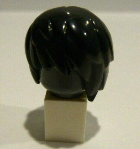 1 x LEGO® Haare,Perücke lang,schwarz für Mädchen,Frau für Minifiguren Neuware