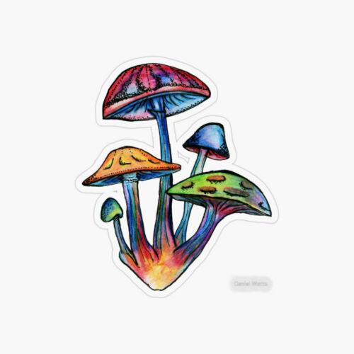 Shrooms Mushrooms Laptop Sticker Bottle Macbook Decal Style 268523
