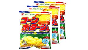 Riska-Corn-potage-Snack-75g-3pcs-Japan