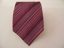 LORD NELSON STRIPES SILK TIE SETA CRAVATTA MADE IN ITALY   X2012