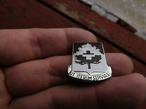 US-ARMY-46TH-MEDICAL-BATTALION-DUI-CB-DI-Pin-Unit-Crest
