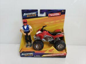 Adventure-Force-Outdoor-Adventure-Off-Road-Adventure-Honda-TRX-ATV-Red-Muddy