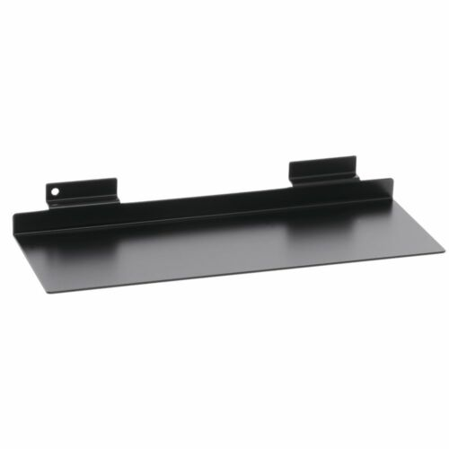 "Black Slatwall Shoe Display 11/""W"