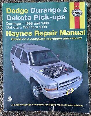 1997 1998 1999 DODGE DURANGO PICK UP TRUCK REPAIR MANUAL ...