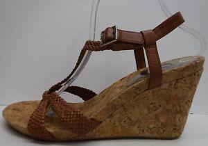 568f515941 Gianni Bini Size 10 Cork Wedge Heels Sandals New Womens Shoes | eBay