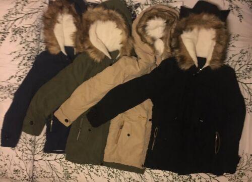 Herre Fur Frakke Kvinder Jakke Parka Hooded Unisex Winter 5qt0w