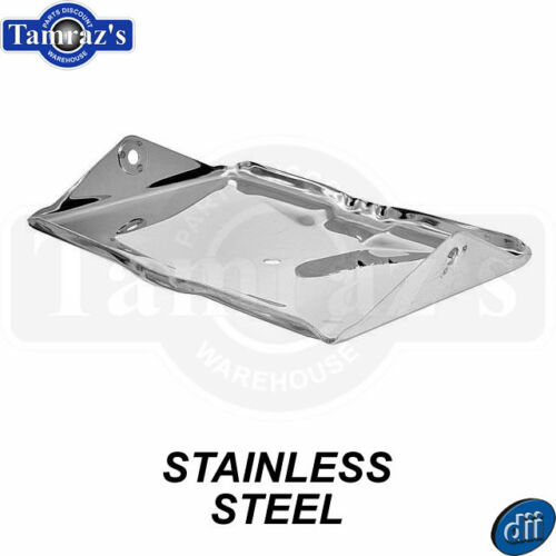 55-57 Chevy Pickup Battery Tray Housing BOTTOM Only STAINLESS STEEL