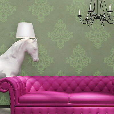 Damask Stencils Wall reusable stencil Wallace for walls instead of wallpaper
