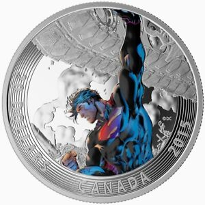 Iconic-Superman-Superman-Unchained-2015-Canada-20-Fine-Silver-Coin