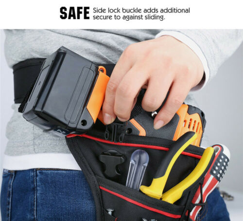 Impact Driver Drill Holder Electric Tool Pouch Waterproof  For Wrench Unique