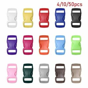 Curved Dog Collar Strap Camp Bag Parts Webbing Outdoor Tool Side Release Buckle