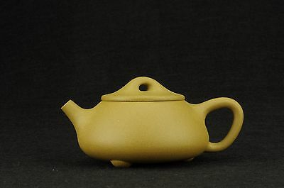 authentic Chinese Yixing zisha shipiao teapot  duanni 100 cc