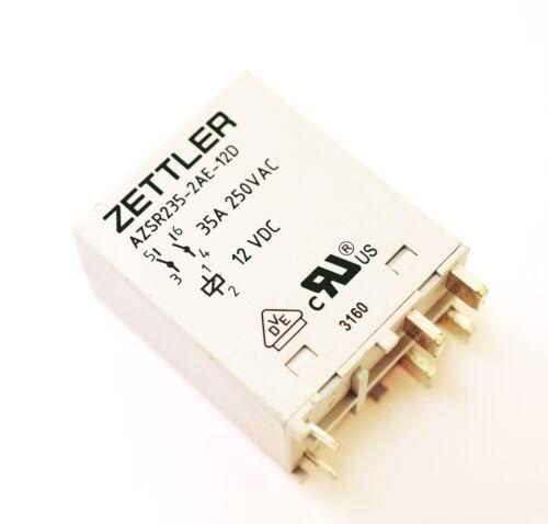 AZSR235-2AE-12D ZETTLER Power Relais 12VDC 35A DPST-NO #720238