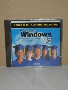 Come-Usare-Microsoft-Windows-98-Corso-di-Autoistruzione-Basica-su-CD-ROM