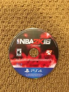 Nba 2k16 ps4 disc only