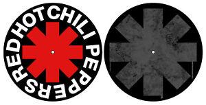 RED-HOT-CHILI-PEPPERS-DJ-SLIPMAT-FILZMATTE-CLASSIC-LOGO-ASTERISK-2er-SET