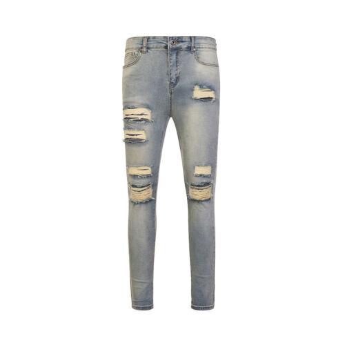 Jeans Skinny Stretch Strappato
