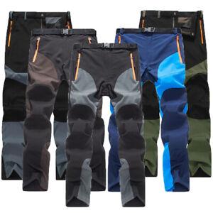 spottbillig näher an frische Stile Details zu Herren Sport Ski Softshellhose Wanderhose Wasserdicht  Trekkinghose Sommer Hosen