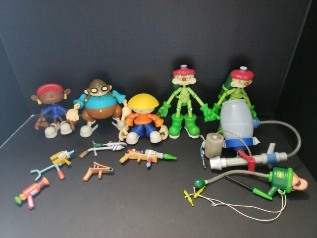 Code Name Kids Next Door Figurines NEW VINTAGE Complete Set of 10 Figures