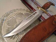 "Timber Rattler Jungle Fury Hunter Bowie Knife Full Tang TR88 Pakka 15 3/4"" OA"