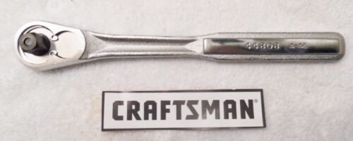 """SOLD SEPARATELY CRAFTSMAN 1//4/"""" 3//8/"""",1//2/"""" QUICK RELEASE RATCHET"""