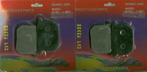 2 sets Aftermarket Disc Brake Pads for the Suzuki GS1000E//S 1980 /& 1982 Front