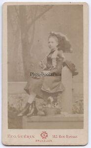 Eugene Guerin Bruxelles Belgium CDV Vintage Albumina Ca 1880