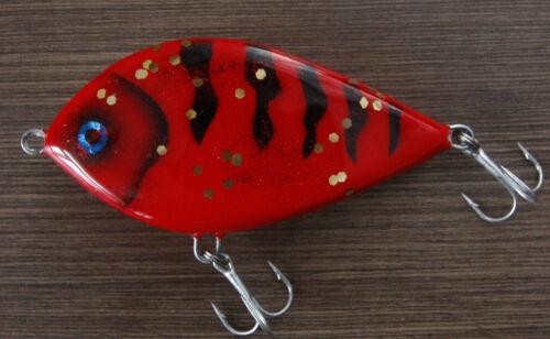 sinking  !! wobbler Jerkbait 10cm Red Ghost