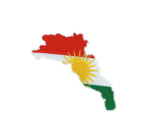 Patch applique embroidered iron on flag map kurdistan kurds world image is loading patch applique embroidered iron on flag map kurdistan gumiabroncs Choice Image