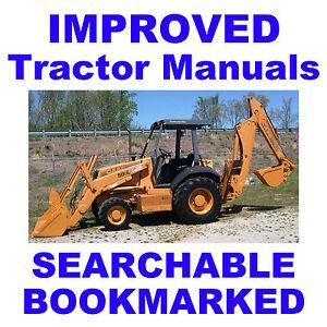 Details about Case 580SL 580 Super L Series 2 CK Backhoe Loader Parts  Manual Catalog 580L CD