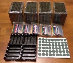 18650-Battery-Starter-Kit-Cell-Holder-Shrink-Wrap-Insulators-Charging-Off-Grid