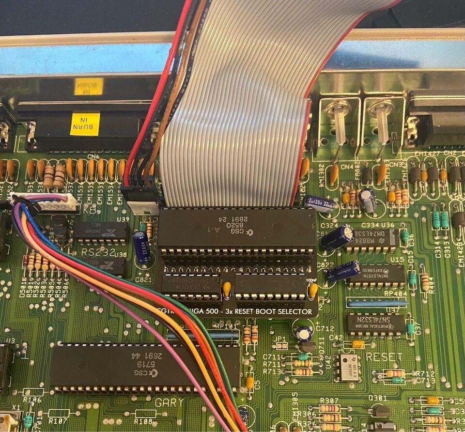 Boot Selector, Amiga 500