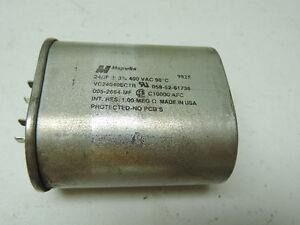 "/& ESR 4.25/"" x 1.75/"" Capacitor 24 uF 400 VAC Aerovox Z73P4024M Tested Cap"
