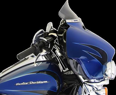 "Klock Werks 5/"" DARK SMOKE Flare Windshield 2014-Up Harley FLHT FLHX KW05-01-0389"