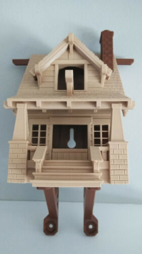 """9/"""" 23cm Bungalow Estate Bird House 3D Printed in USA Choose Main Color!"""