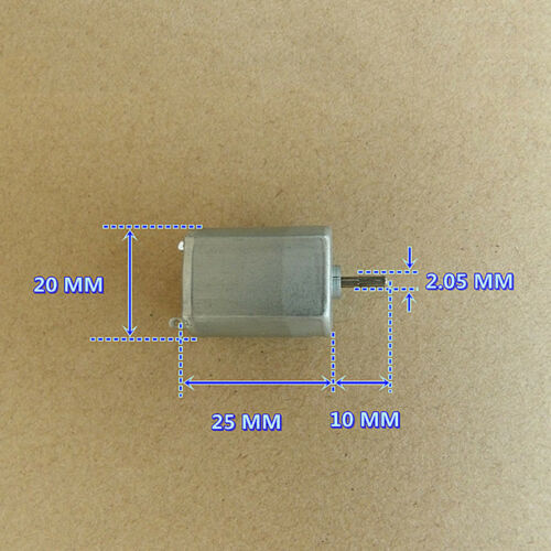 Mini FP-130 DC 12V~24V 17200RPM High Speed Micro 130 DC Motor DIY Toy Hobby Part