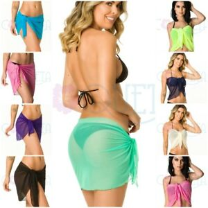 popular brand fashionable patterns save off Details about SWIMSUIT COVER UP CANGA PAREO BIKINI SHEER BATHING SUIT MESH  WRAP WOMEN'S NEW