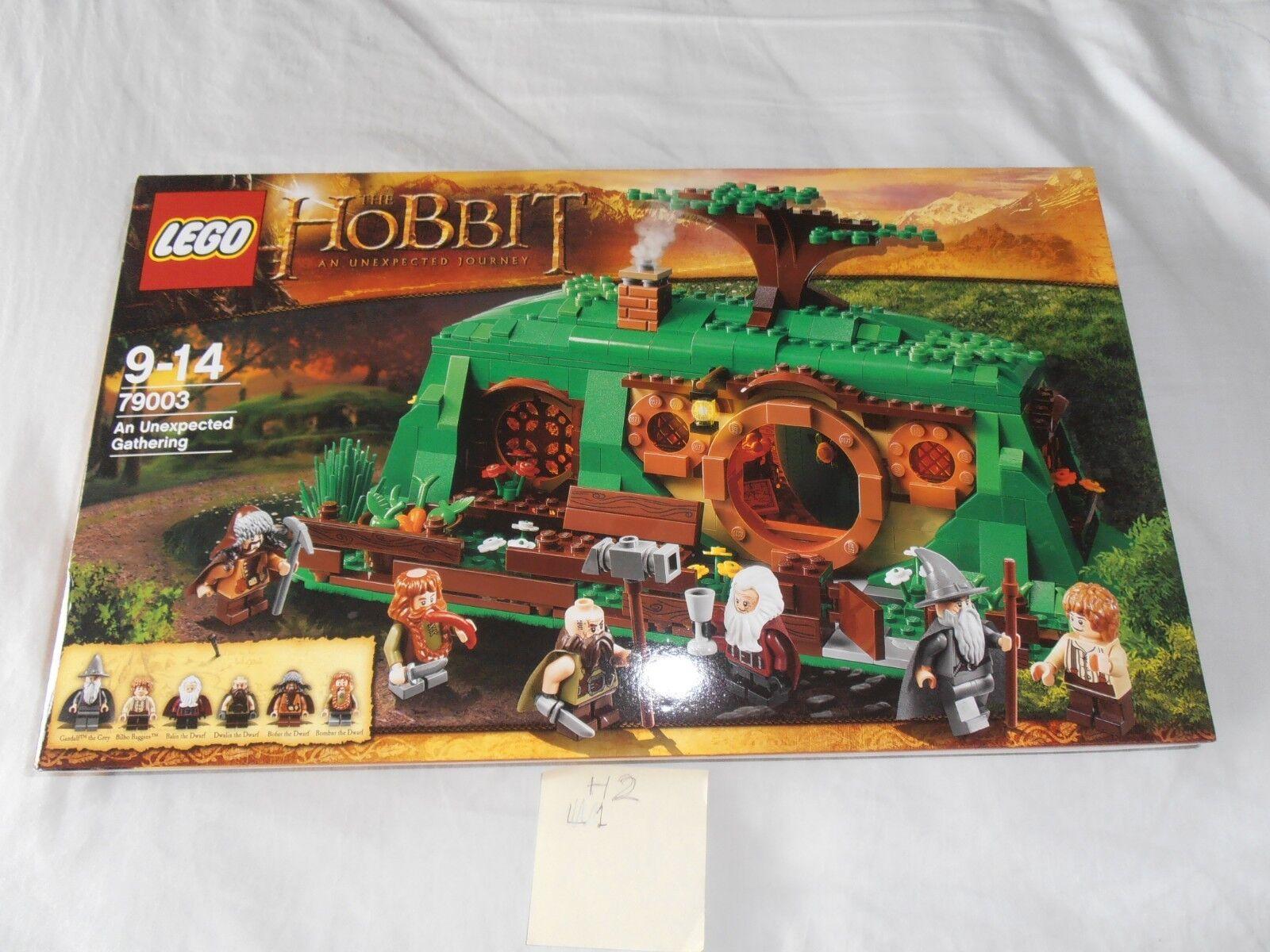 LEGO 79003 The Hobbit An Unexpected Gathering NOUVEAU SCELLÉ Endommagé Boite h2